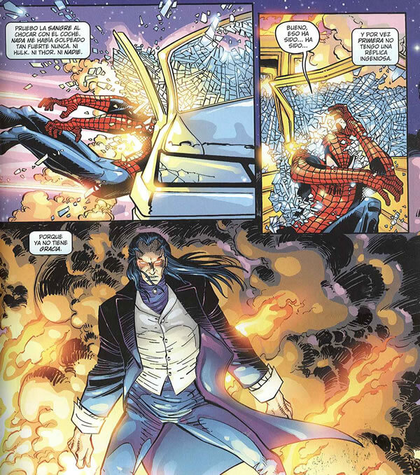 Spiderman Morlun