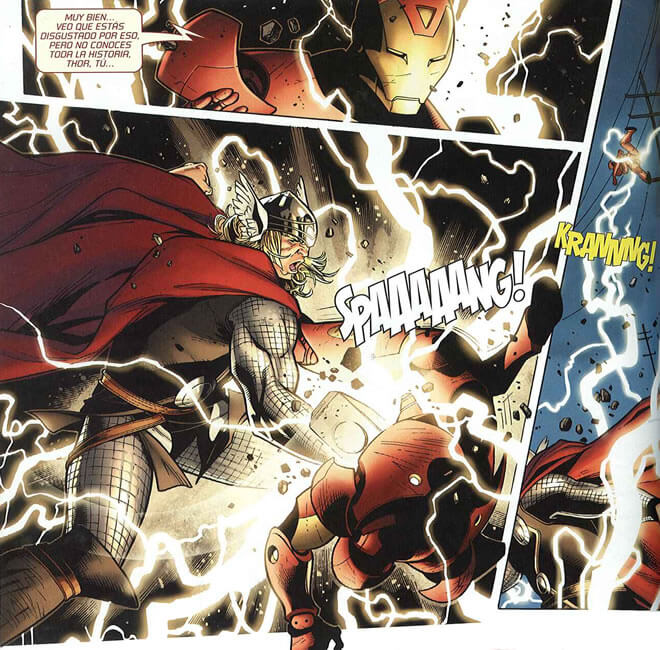 Thor vs Iron-man