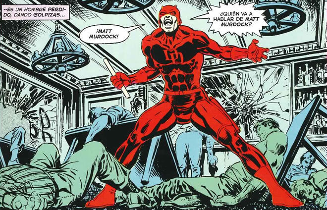 Daredevil Angry