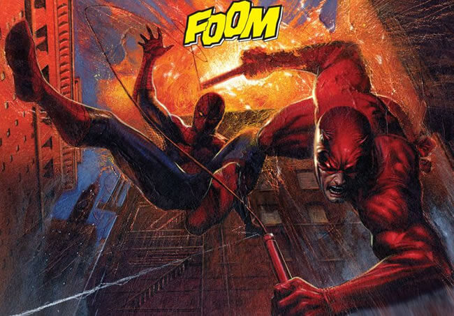 Spiderman and Daredevil